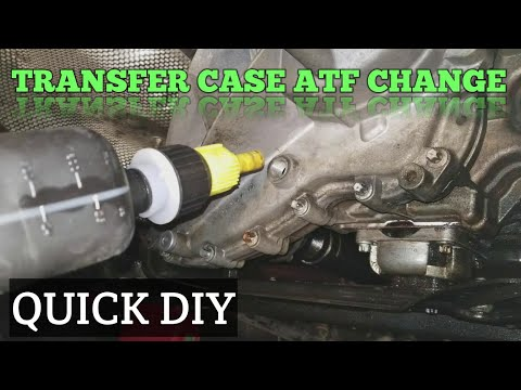 Mercedes Transfer Case Fluid Change