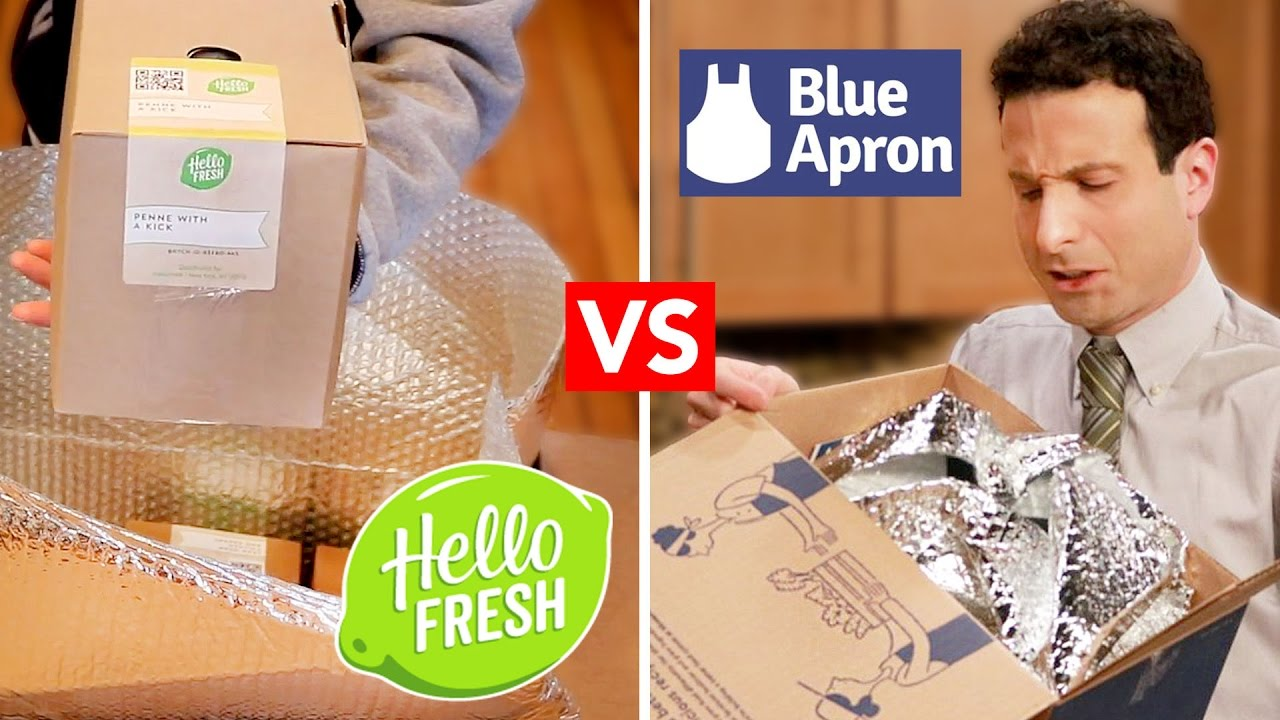 Blue apron youtube review - Blue Apron Vs Hellofresh Are They Worth It Unboxing Review