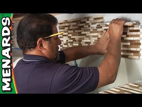 Tile Backsplash - How To Install - Menards