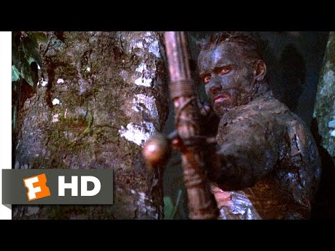 Predator (1987) - Predator Vs. Dutch Scene (3/5) | Movieclips