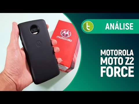 Moto Z2 Force: um flagship versátil, barato e 'inquebrável'  Review do TudoCelular