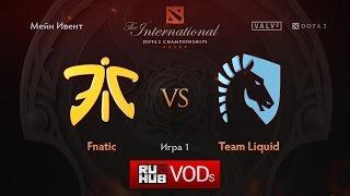Fnatic vs Liquid, game 1