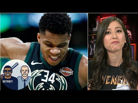 Video: Giannis, Bucks could pose biggest threat to Warriors - Mina Kimes | Jalen & Jacoby