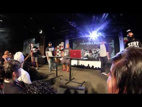 Dirty Rice vs The Bridge - Rapzilla Beat Battle 2013