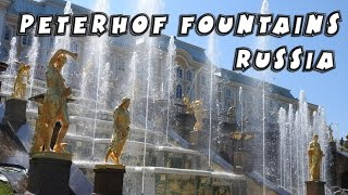Peterhof Russia  City pictures : Peterhof fountains, St Petersburg, Russia