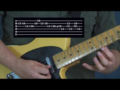 Kenny Wayne Shepherd inspired Blues Rock guitar lesson soloing tone gear licks Blue on Black style