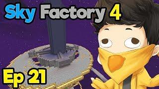 MY BEST TIMELAPSE SO FAR !? | Minecraft Modpack: Sky Factory 4 | Ep. 21