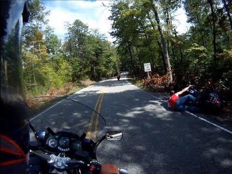 Dragons Tail - Harley Crash 8/20/2012