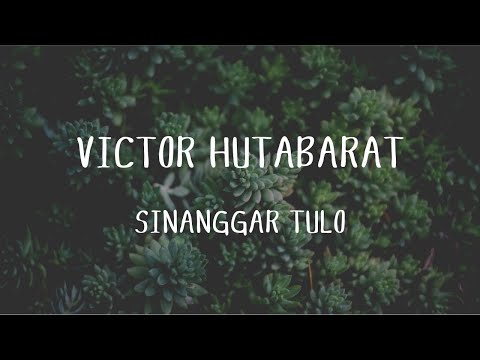 Victor Hutabarat - Sinanggar Tulo (Official Music Video)