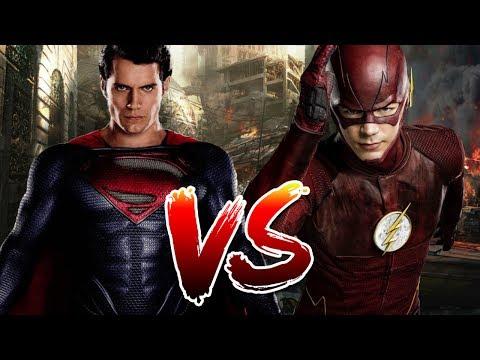 Superman VS Flash   Who Wins?