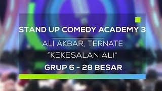 Video Stand Up Comedy Academy 3 : Ali Akbar, Ternate - Kekesalan Ali MP3, 3GP, MP4, WEBM, AVI, FLV Februari 2018