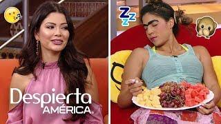 Piropos para Ana Patricia, ¡y Mela la Melaza se queda dormida!