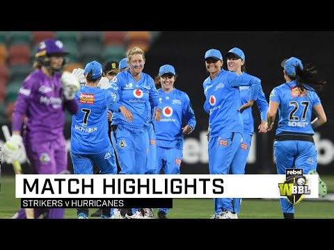 Strikers claim final-ball thriller over the 'Canes | Rebel WBBL|05