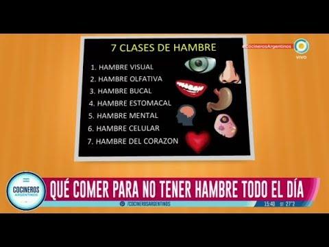 Los 7 clases de hambre