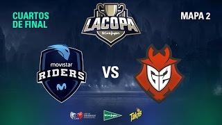 Movistar Riders VS G2 Vodafone - Copa El Corte Inglés - Cuartos de Final - Mapa 2