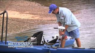 How to fit and electric motor to a kayak or canoe [VIDEO]
