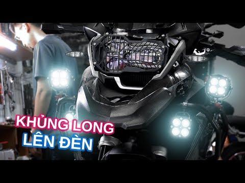 Khủng long BMW R 1200GS lên bộ đèn TUN khủng | AMV shop - Thời lượng: 7 phút, 28 giây.