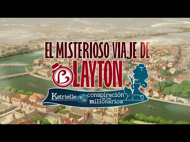 """""""EL MISTERIOSO VIAJE DE LAYTON™ Katrielle y la conspiración de los millonarios"""""""