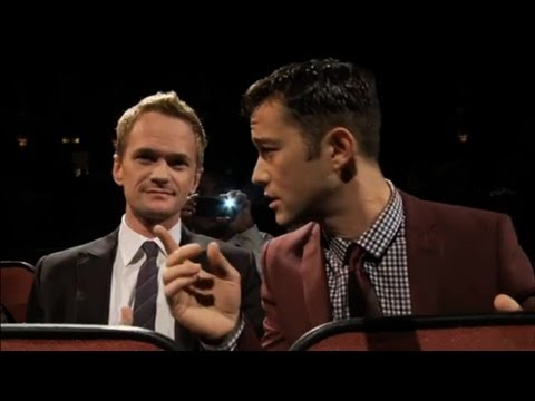 Joseph Gordon Levitt - Joseph Gordon-Levitt and Neil Patrick Harris perform at The Orpheum Theater in Los Angeles on 10/10/11. HITRECORD - FALL FORMAL 2011 @ THE ORPHEUM Okay, it s...