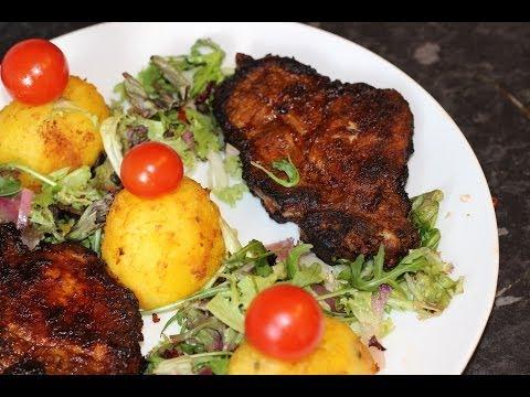 Pork Spare Ribs Chops Barbeque | Nigerian Food | Nigerian cuisine