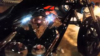 8. 2014 honda fury stock exhaust