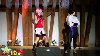 SAKURAS DEATH Dance ITAZURA @ AniNite'11 Cosplay contest (AniNite 2011)