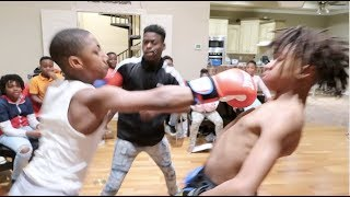 THE BAD & GOOD KIDS BOXING MATCH!!