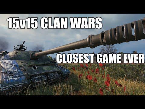 World of Tanks Fisherman's bay 15v15  (Clan wars edition)