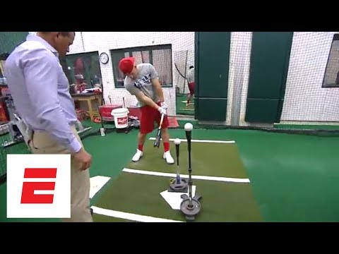 Mike Trout tells Alex Rodriguez about pregame routine and how his dad influenced his game | ESPN