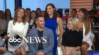 Download Video The cast of 'Wonder Woman' takes over 'GMA' MP3 3GP MP4