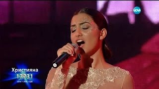 Hristiana Loizu music video The Phantom of the Opera (On The X-Factor Blulgaria) (Live)