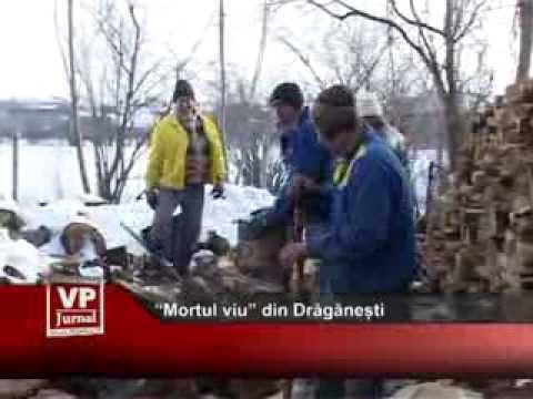 """""""Mortul viu"""" din Drăgănești"""