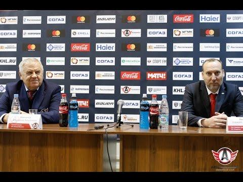 Пресс-конференция: Автомобилист - Спартак (8.01.2017)