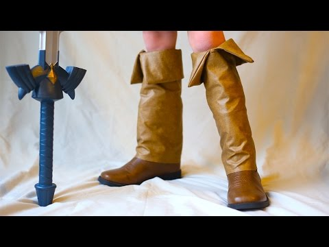 How To Make Young Link Boots! Zelda Ocarina Of Time Costume!