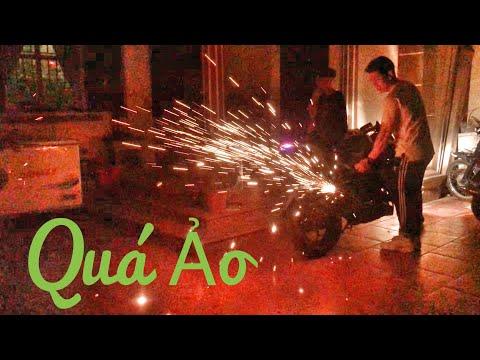 Z300 Bắn Pháo Hoa bằng bùi nhùi thép ( Z300 Fireworks with Steel wool ) - Thời lượng: 12 phút.