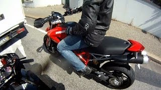 5. Ducati Hypermotard 1100 - Test drive!