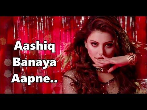 Aashiq Banaya Aapne | Himesh Reshammiya,Neha Kakkar | Hate Story IV | Urvashi Rautela | Lyrics |2018