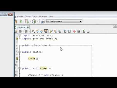 Java Tutorial 13: Adding Action Listener in Java
