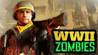 """COD WW2 ZOMBIES FIRST MAP IMAGE & CHARACTER STORYLINE!●Hit """"LIKE"""" if you're HYPED for Zombies in COD World War 2!●SUBSCRIBE FOR WW2 ZOMBIES INTEL: http://bit.ly/VNLqYy●Milo's video: https://www.youtube.com/watch?v=-s6RljPGHKsCall of Duty: WORLD WAR 2 (Call of Duty WW2) is the OFFICIAL Call of Duty game in 2017 from Sledgehammer Games. This is the Call of Duty World war 2 ZOMBIES TEASER, containing WORLD WAR 2 GAMEPLAY! Call of Duty WW2 zombies teaser from the worldwide reveal of Call of Duty World War 2. SUBSCRIBE for the LATEST INFORMATION on Call of Duty: WW2 ZOMBIES The definitive World War II next generation experience also introduces Zombies, an all-new cooperative mode featuring a unique standalone storyline set during World War II that's full of unexpected, adrenaline-pumping action.●SUBSCRIBE - http://bit.ly/VNLqYy●How I record my COD videos - http://e.lga.to/DalekJDStay Updated:• Subscribe - http://bit.ly/VNLqYy•Twitter for Updates: http://www.twitter.com/mrdalekjd•Facebook: http://www.facebook.com/mrdalekjd•Shop: http://www.mrdalekjd.com• Instagram: http://www.instagram.com/mrdalekjd"""