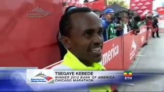 Very Funny Ethiopian Marathon Athelet Tsegaye Kebede Funny Interview
