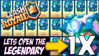 WOW! LEGENDARY CHEST OPENING :: Clash Royale :: MAGICAL & EPIC CHEST OPENING