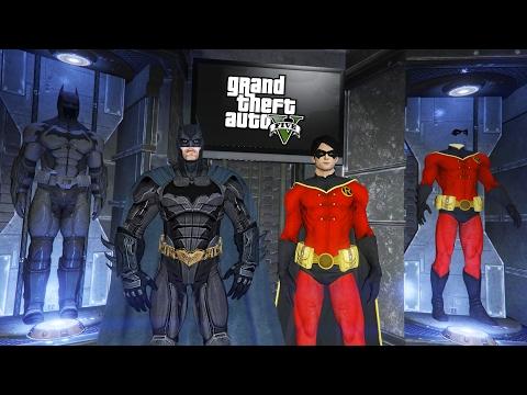 BATMAN & ROBIN!! (GTA 5 Mods) (видео)