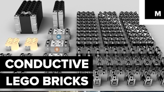 'Brixo,' a startup created by physicists, created chrome-coated bricks that can conduct electricity and breath life into your old Lego constructions. It has already raised over $1,300,000 in one of its crowdfunding campaigns. READ MORE: http://mashable.com/FACEBOOK: https://www.facebook.com/mashable/TWITTER: https://twitter.com/mashableINSTAGRAM: https://www.instagram.com/mashable/