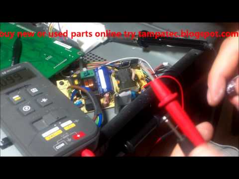 MOST COMMON REPAIR FOR LCD - NO POWER