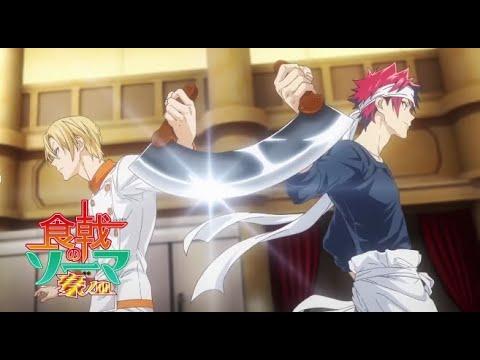 Soma & Aldini vs Noir Chef !  Food Wars Season 5 Episode 8