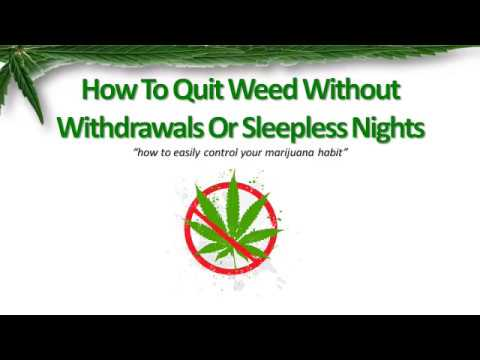 How I Quit Smoking Weed In Less Than 7 Days! I Maria