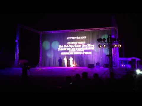 Trọng Tấn Anh Thơ Giang Còi Quang Tèo. Yên Định - Thanh Hóa tháng 6.2013