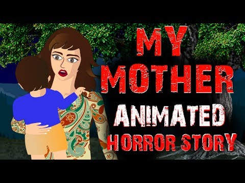 My Mother | Horror Animated Story | Horror Stories Hindi Urdu