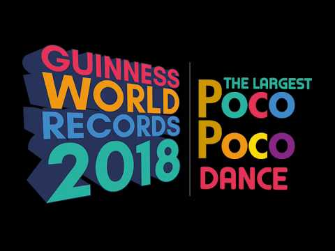 Indonesia GWR The Largest Poco Poco Dance 2018 Tutorial Mp3