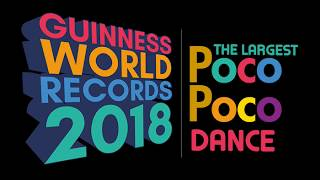 Indonesia GWR The Largest Poco Poco Dance 2018 Tutorial